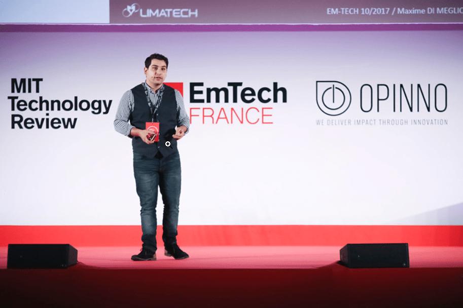 Maxime-DI-MEGLIO-DG-Limatech-MIT-TECHNOLOGY-REVIEW-EMTECH-2017